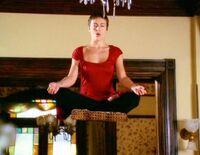 Phoebe Levitating