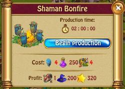 Shaman bonfireP