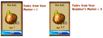 May bulb sales