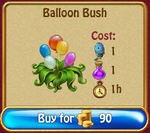 Balloon Bush