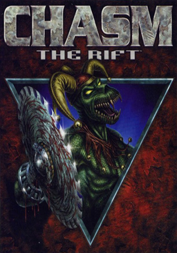 Chasm - The Rift Coverart
