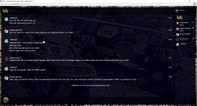 PrntScr Dakar 2016 Chat Skin V2 Full Screen