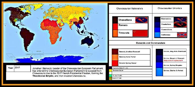 Theodosian Invasion of Chawosauria