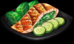 Dish-Salmon With Cucumber
