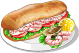Dish-Seafood Sandwich