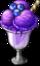Dish-Blueberry Ice Cream