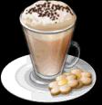 Dish-Caffe Latte
