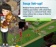 Soup Set-up!