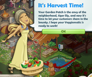 It's Harvest Time!