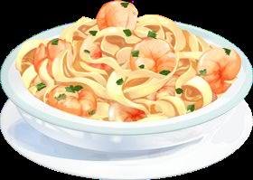 Recipe-Shrimp Alfredo Pasta