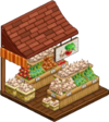 Harvestable-Garlic Stall 2