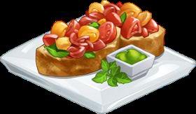 Recipe-Zucchini and Shallot Bruschetta