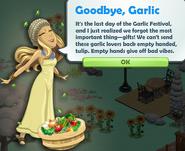Goodbye, Garlic