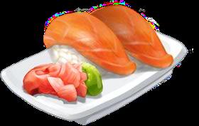 Recipe-Salmon Nigiri