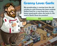 Granny Loves Garlic