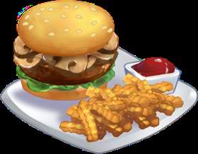 Recipe-Mushroom Burger