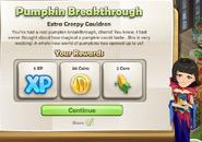 Pumpkin Breakthrough