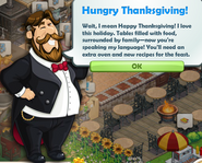 Hungry Thanksgiving