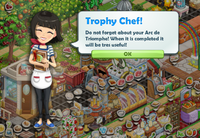 Goal-Trophy Chef! Part 2 Bubble