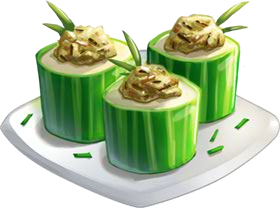Recipe-Chicken Salad Cucumber Rolls