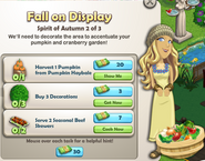 Fall on Display