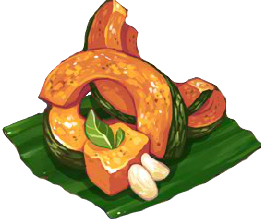 Recipe-Roasted Kabocha