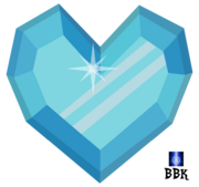 Crystal heart by bb k-d5kytgm