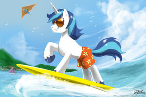 4090 artist-johnjoseco shining-armor surfing