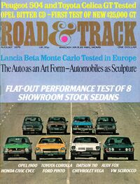 Road & Track - Aug. 1975