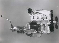 Vega 140 engine 3-speed manual
