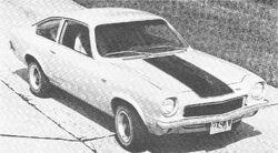 73 Vega GT- Motor Trend 1973 Yearbook