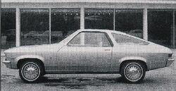 68 XP-887 Clay Model