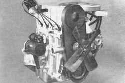 Vega 2300 engine R&T Aug 1970