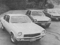 71 Vegas - Car Life Sept. 1970