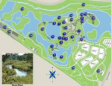Map of Chicago Botanic Garden