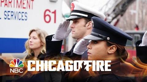 Chicago Fire - Shay's Dedication Ceremony (Episode Highlight)