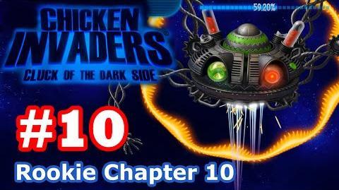 Chicken Invaders 5 - Part 10 Rookie Chapter 10 (No Death)