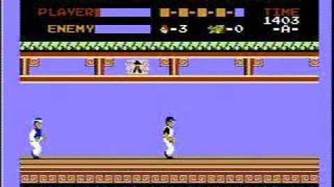 Kung Fu - NES Gameplay