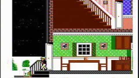Home Alone - NES Gameplay