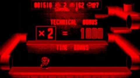 Virtual Boy Mario Clash Gameplay Footage