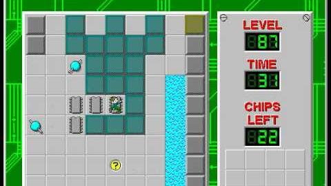 CCLP2 level 87 solution - 20 seconds