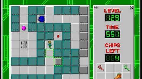 CCLP2 level 129 solution - 459 seconds