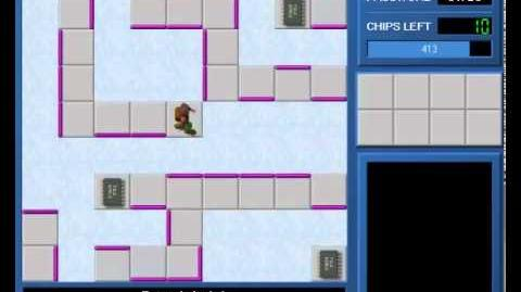CCLP1 level 44 solution - 365 seconds