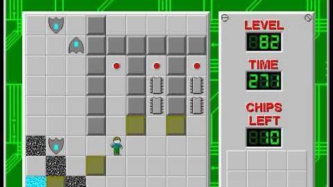 CCLP2 level 82 solution - 253 seconds