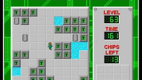 CCLP2 level 63 solution - 128 seconds