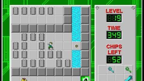 CCLP2 level 19 solution - 301 seconds