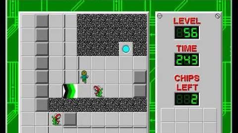 CCLP2 level 56 solution - 236 seconds