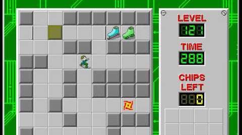 CCLP2 level 121 solution - 283 seconds
