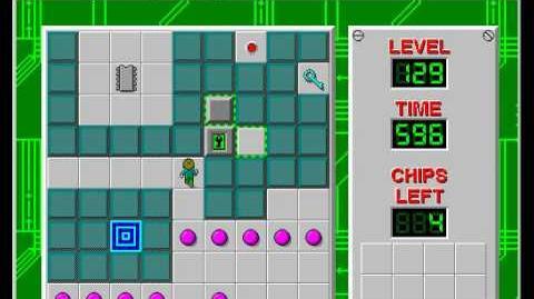 CCLP2 level 129 solution - 593 seconds