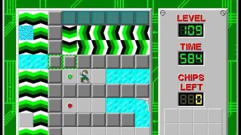 CCLP2 level 109 solution - 567 seconds